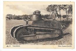 VALENCE  (cpa 26)  Char D'assaut (profil)   -  L 1 - Valence