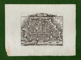 ST-IT PAVIA - PAVIE Alexandre Rogissart 1709~ Les Delices De L'Italie - Prenten & Gravure
