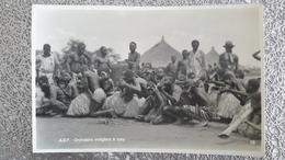 CARTE PHOTO - ORCHESTRE INDIGENE IPPY - CONGO ZAGOURSKI LEOPOLDVILLE AFRIQUE QUI DISPARAIT - Centrafricaine (République)