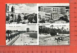 CPM, SOUVENIR DE TUNISIE: Multivues - Tunisie
