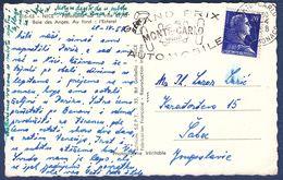 1958.Grand Prix Monte-Carlo Automobile,NICE-Panorama,photo Postcard,car,race,formula 1,advertising,Monaco - Grand Prix / F1