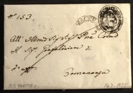 1825. M. SAN MARTINO PER COMUNANZA - Italy