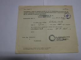 S. SEVERO  ---  FOGGIA  ---  DISTACCAMENTO REGIA AERONAUTICA - Italia