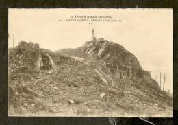 CP-Militaria - HARTMANNSWILLERKOPF (Vieil Armand) - LE FRONT D'ALSACE (1914-1918) - Guerre 1914-18