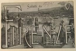SALUTI DA FIRENZE VIAGGIATA FP - Firenze