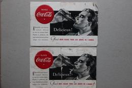 Deux Buvards Buvez Coca-Cola - Alimentaire