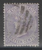 Ceylan - Ceylon - YT 52 Oblitéré - Ceylon (...-1947)