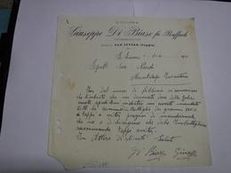 S. SEVERO  --- TORREMAGGIORE -- FOGGIA  -- GIUSEPPE DI BIASE FU RAFFAELE  --DISTILLERIA - Italia