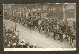 CP-Militaria - Artillerie Anglaise - 1914 - Regiments