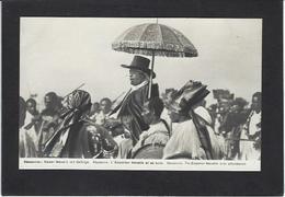CPA Ethiopie Ethiopia Ethnic Afrique Noire Type Non Circulé Abyssinie L'Empereur MENELIK - Ethiopia