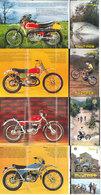 Lot 4 Publicités Motos Bultaco  Cross Trial - Publicités