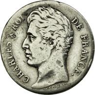 Monnaie, France, Charles X, 1/2 Franc, 1826, Perpignan, TB, Argent, Gadoury:402 - France