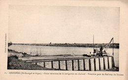 91Md   Senegal Niger Ambidédi Point Terminus De La Navigation En Chaland Premiere Gare Du Railway Du Soudan - Senegal