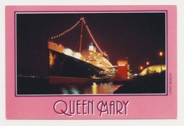 AJ90 Shipping - Queen Mary At Long Beach - Steamers