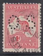 AUSTRALIEN Dienstpost 1913 - MiNr:2 IIx  Lochung II  Used - Dienstpost