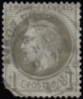 FRANCE - Scott #29 Emperor Napoleon III CV $20 / Used Stamp - 1853-1860 Napoleone III