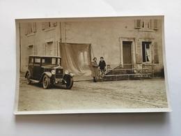 Belle Carte Photo Automobile Ancienne Vers 1920 - Automobiles