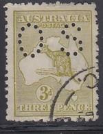 AUSTRALIEN Dienstpost 1915 - MiNr: 37 IIx  Lochung II  Used - Dienstpost