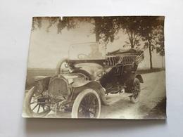 Belle Photo Automobile Ancienne Vers 1920 11 X 8,5 Cm - Automobiles
