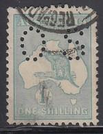 AUSTRALIEN Dienstpost 1915 - MiNr: 41 IIx  Lochung II  Used - Dienstpost