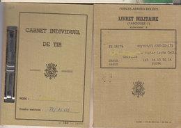 Militaire Lot 2 Documents 1971 - Documents