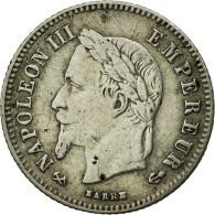 Monnaie, France, Napoleon III, Napoléon III, 20 Centimes, 1864, Bordeaux, TB+ - France