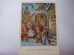 "Cartolina Viaggiata ""BUON NATALE"" 1954 - Christmas"