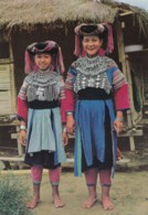 AO57 Ethnic - Lisu Girl, One Of The Hill Tribes At Old Chiangmai Cultural Center, Thailand - Asia