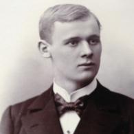 DUESSELDORF - AACHEN - LANTIN - JUNGER MANN MIT FLIEGE - 1899 - Anonyme Personen
