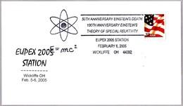 50TH ANNIVERSARY EINSTEIN'S DEATH. Wickliffe OH 2005 - Albert Einstein