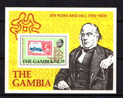 GAMBIA   1979    Death  Centenary  Of  Sir  Rowland  Hill       Sheetlet     MNH - Gambie (1965-...)