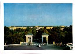 #14   Smolny - Saint Petersburg, RUSSIA - Big Size Postcard - Russie