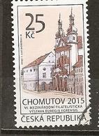 Czech Republik 2015 Chomutov Obl - Used Stamps