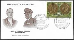 1972 - HAUTE VOLTA - FDC + Y&T 107 [PA] + OUAGADOUGOU - Haute-Volta (1958-1984)