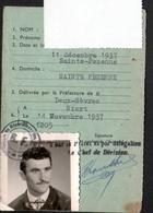 79, Niort, Licence De Circulation Pour La Conduite De Velomoteurs N'excedant Pas 125 CM3 - Titres De Transport