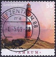 German Federal Republic 2008 - Lighthouse Of Hörnum ( Mi 2683 - YT 2505 ) - BRD
