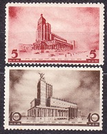 RUSSIA, SOVIET UNION 1937, UNUSED STAMPS, MH, Michel 559-560. MOSCOW. Condition, See The Scans. - 1923-1991 URSS
