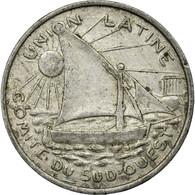 Monnaie, France, 25 Centimes, 1922, Toulouse, TTB, Aluminium, Elie:15.9 - Monétaires / De Nécessité