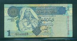 Libya 1 Dinar  Used - Libya