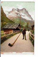 CPA - Carte Postale -Suisse-Alphornbläser-1907- S5001 - Suisse