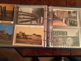LOT 200 CPA (dont Quelques + Récentes) Dans ALBUM (Pas D'envoi, Remise En Main Propre!) - Cartes Postales