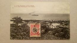 """Libéria - S.S """"Linda Woermann"""" In The Harbour Paquebot Bateau / Editions Nels, Avec Timbre Et Cachet - Liberia"""