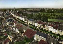 CPSM Grand Format EN AVION AU DESSUS DE ..MAUVES Sur HUISNE Et CORBON  (Orne) Colorisée RV - Francia