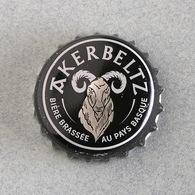 Ancienne Capsule Bière Brasserie Akerbeltz (crown Beer Cap, Kronkorken, Tappi Birra) - Beer
