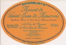 MUSCAT DE SAINT JEAN DE MINERVOIS  SAINSBURY'S (3) - Languedoc-Roussillon