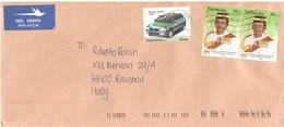 LETTERA X ITALY CON PROTON TIARA 1995 - Malesia (1964-...)