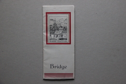 Carnet Ancien Publicitaire Liqueur Grande Chartreuse, Compte-point De Bridge - Alcools