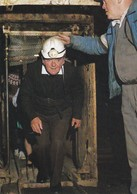 Postcard Chatterley Whitfield Mining Museum Cage At Pit Bottom Underground Tour Begins Mine Interest ] My Ref  B23304 - Mines