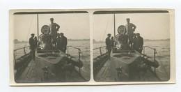 Photo D'un Kiosque De Sous-marin Français 14-18 12,5 X 6 Cm - 1914-18