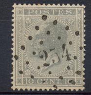 Nr.  17  :  Montzen - 1865-1866 Linksprofil
